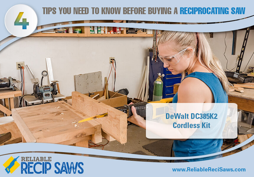 tips to buying reciprocating saws